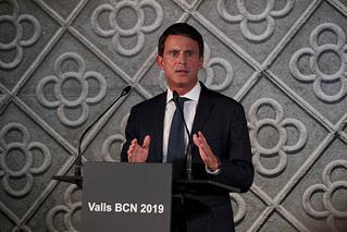 法前总理宣布将竞选西班牙巴塞罗那市长