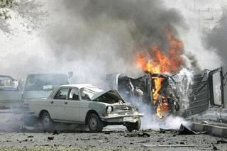 阿富汗总统竞选集会现场遭遇炸弹袭击