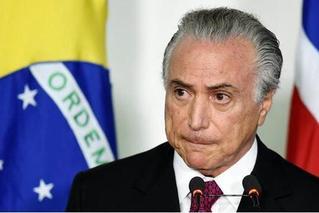 巴西前总统特梅尔涉贪腐被捕 亲信全落网