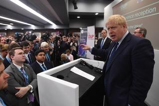 约翰逊本周三向欧盟提供最终脱欧协议