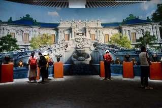70年归国流失文物大展在国博开幕
