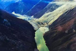 金沙江再次形成堰塞湖 水位上漲超12米