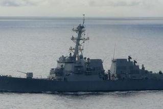 美国军舰今年第7次穿越台湾海峡