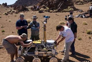 欧洲航天局火星生命探测器惊艳亮相