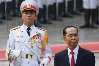 越南国家主席去世 十天前露面疑显不适