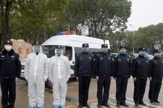 武汉警方三千余警力驻点服务医疗机构