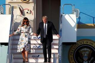 特朗普开启访日之旅 成令和时代首位国宾