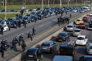 抗议退休金改革 巴黎现严重交通罢工