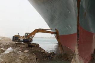 苏伊士运河挖掘机工人自称未获加班费