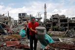 菲律宾马拉维之战逃离居民首次返家